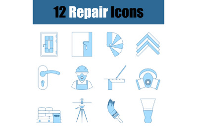 Repair Icon Set