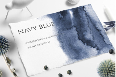 Navy Blue Ombre Texture
