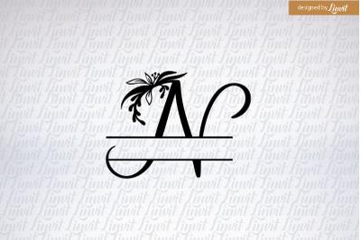 n logo, n logo custom, n initial, monogram n