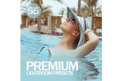 55 Premium Lightroom Presets