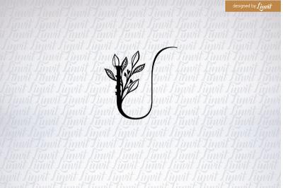 U initial, U logo, U monogram