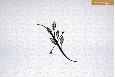 X font, X monogram, x logo, x initial, initial x
