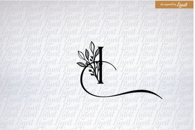 i font, i letter, i logo, i initial, i monogram, monogram i, initial i