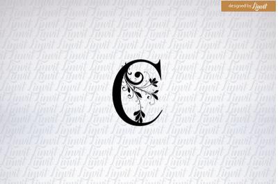 C logo, c monogram, c logo design, c wedding monogram