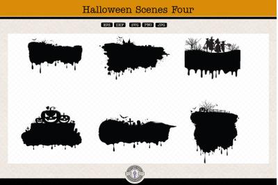 Halloween Scenes 4