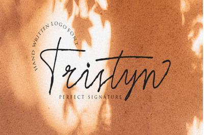 Tristyn Signature Typeface