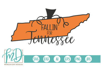 Fallin' For Tennessee SVG