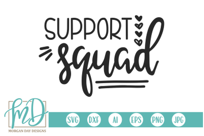 Support Squad SVG