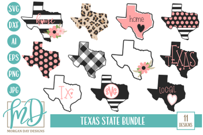 Texas SVG Bundle