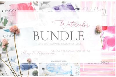 14 Watercolor Bundle + Free Updates