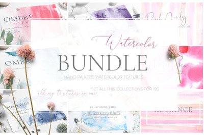 Watercolor Bundle + Free Updates