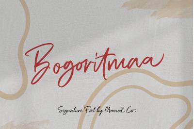Bogoritmaa Signature