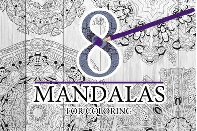 Mandalas for coloring 13