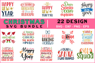 Christmas Svg Bundle Vol-08