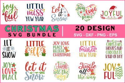 Christmas Svg Bundle Vol-09