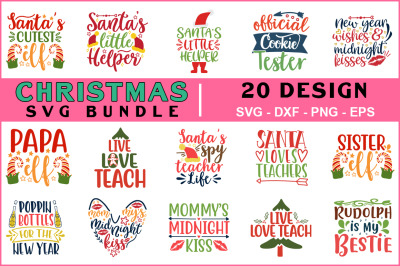 Christmas Svg Bundle Vol-10