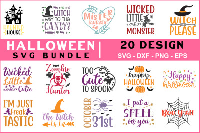 Halloween Svg Bundle Vol-01