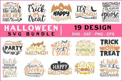 Halloween Svg Bundle Vol-02