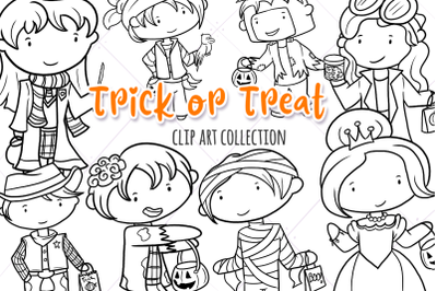 Trick of Treat Digital Stamps