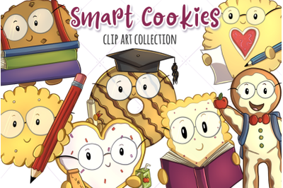 Smart Cookies Clip Art Collection