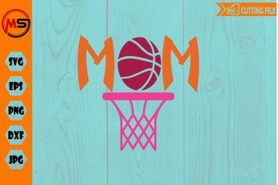 Basketball mom, i am a proud basketball mama svg cut file for cricut