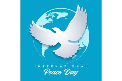 International Day of Peace Emblem.