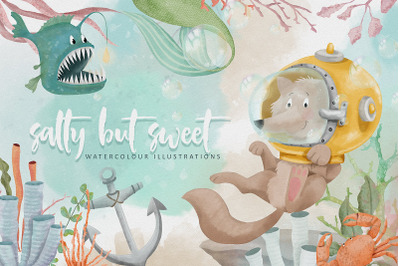 Salty but Sweet Illustrations