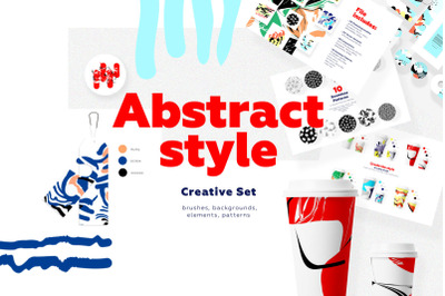 Abstract Style - Creative Set