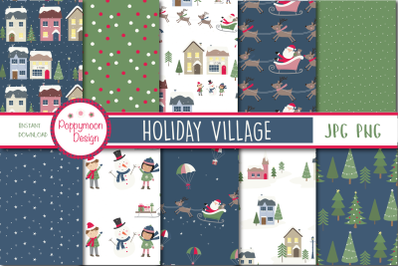 Holiday village paper