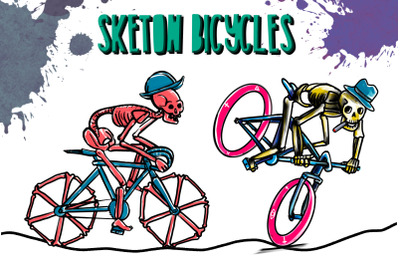 SKELETON BICYCLES