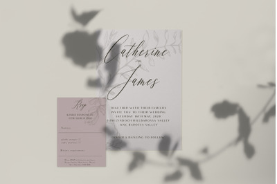 Subtle Grace Printable Wedding Suite