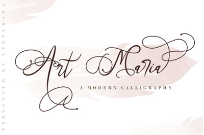 Art Maria || EXTENDED LICENSE