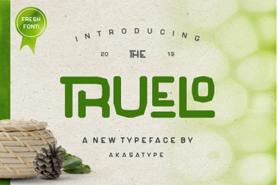 TRUELO | Fresh font