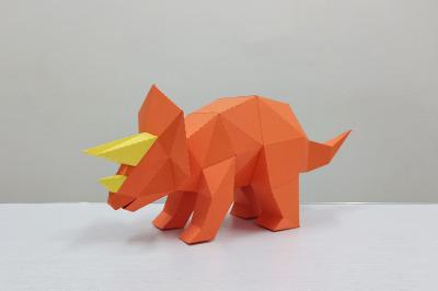 DIY Triceratops - 3d papercraft
