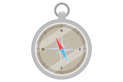Device compass flat design