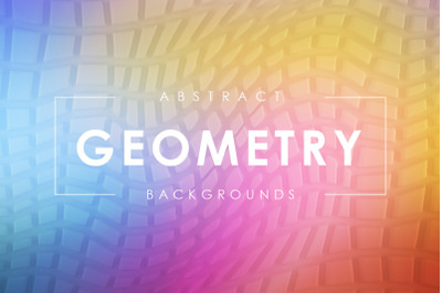 3D Geometry Backgrounds