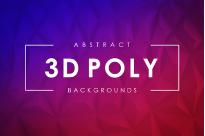 3D Poly Backgrounds