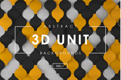 3D Unit Abstract Backgrounds 1