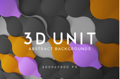3D Unit Abstract Backgrounds 2