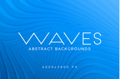 3D Waves Backgrounds