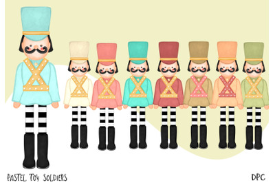 Pastel Toy Soldiers