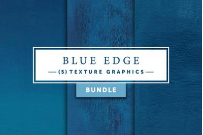 Blue Edge Bundle   Texture Graphics