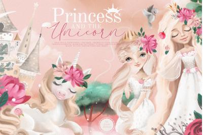 Princess And The Unicorn