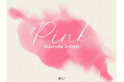 Pink Watercolor Textures