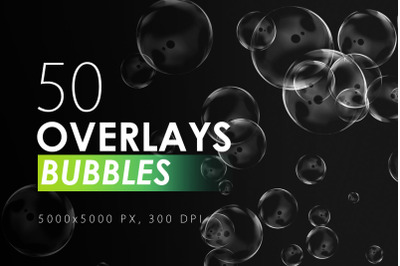 50 Bubble Overlays