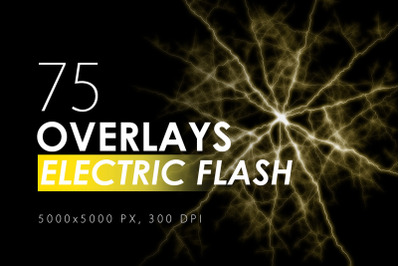 75 Electric Flash Overlays