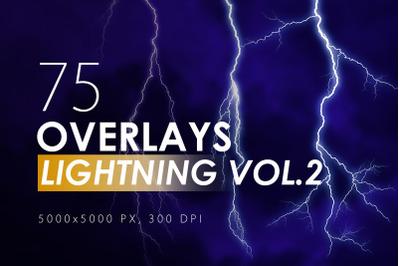 100 Lightning Overlays Vol. 2