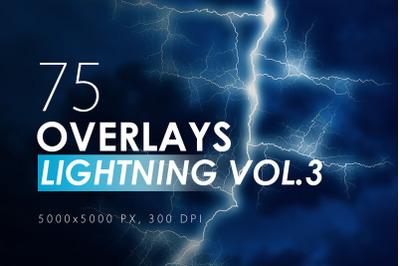 100 Lightning Overlays Vol. 3