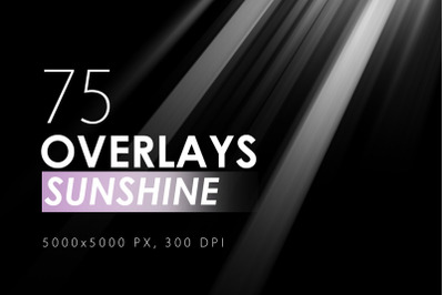 75 Sunshine Overlays