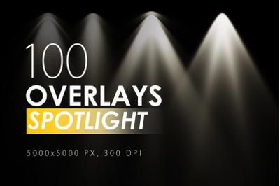 100 Spotlight Overlays